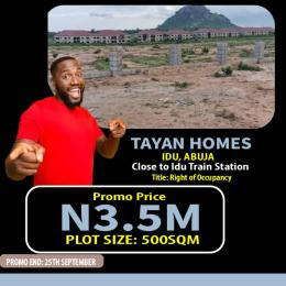 Residential Land for sale Train Station Idu Abuja