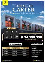 3 bedroom Terraced Duplex for sale Sangotedo Ajah Lagos