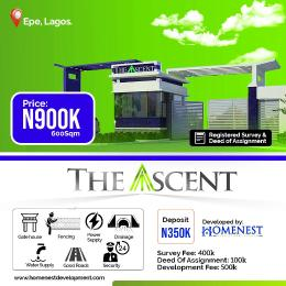 Residential Land for sale Talara Oke,igbonla, Epe, Lagos Epe Lagos