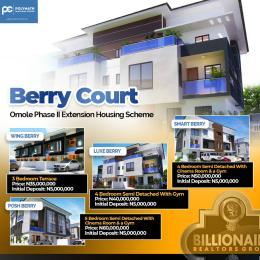 Terraced Duplex House for sale Omole Phase 2 Ikeja Lagos