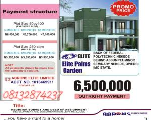 Residential Land Land for sale Nekede Owerri Imo