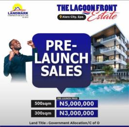 Residential Land for sale Alaro City Epe Road Epe Lagos