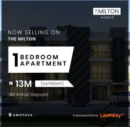 1 bedroom mini flat  Blocks of Flats House for rent Awoyaya Ajah Lagos