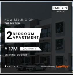 2 bedroom Blocks of Flats House for sale Awoyaya Ajah Lagos