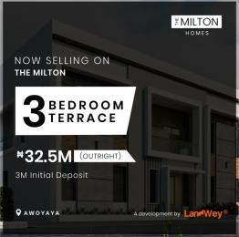 3 bedroom Terraced Duplex for sale Awoyaya Ajah Lagos