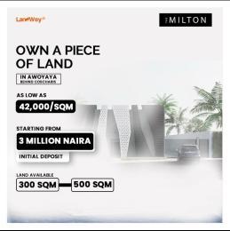 Serviced Residential Land for sale Awoyaya Ajah Lagos