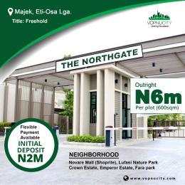 Residential Land for sale Inside Majek, Opposite Fara Park Estat Majek Sangotedo Lagos