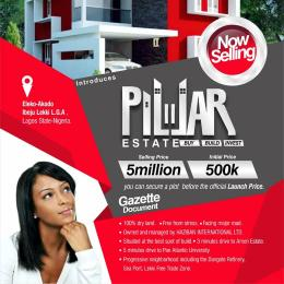 Residential Land for sale Eleko Akodo Ise Ibeju-Lekki Lagos