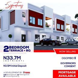 2 bedroom Terraced Duplex for sale The Signature, Eti Isa Local Government Ogombo Ajah Lagos
