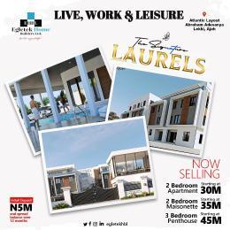 2 bedroom Blocks of Flats House for sale Atlantic Layout Estate, Abraham Adesanya Lekki Ajah Abraham adesanya estate Ajah Lagos