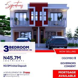 3 bedroom Semi Detached Duplex House for sale Abraham Adesanya by Ogombo Road Abraham adesanya estate Ajah Lagos