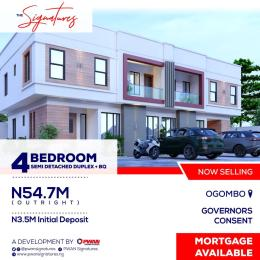 3 bedroom Detached Duplex House for sale Abraham Adesanya Road Abraham adesanya estate Ajah Lagos
