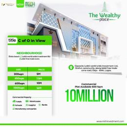 Commercial Land Land for sale Free Trade Zone Ibeju-Lekki Lagos