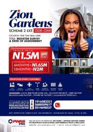 Mixed   Use Land Land for sale Odeomi Lagos Free Trade Zone Ibeju-Lekki Lagos