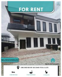 4 bedroom Semi Detached Duplex for rent Chevron Toll Gate And Very Close To The Road chevron Lekki Lagos