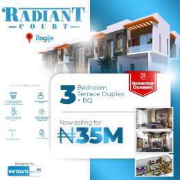 3 bedroom Terraced Duplex House for sale Radiant Court, 1 Minutes From Lekki Epe Expressway Bogije Sangotedo Lagos