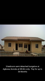3 bedroom Semi Detached Bungalow House for sale Agbowa Ikorodu Ikorodu Ikorodu Lagos