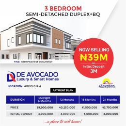 3 bedroom Semi Detached Duplex House for sale De Avocado Smart Homes Lekki Scheme 2 Ajah Lagos