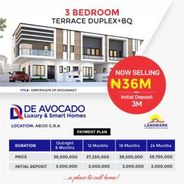 3 bedroom Terraced Duplex House for sale De Avocado Homes Lekki Scheme 2 Ajah Lagos