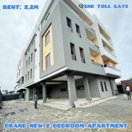 2 bedroom Blocks of Flats House for rent Orchid road chevron Lekki Lagos
