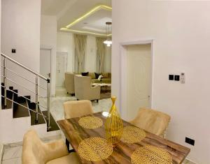 3 bedroom Semi Detached Duplex for shortlet Sule Olusesi chevron Lekki Lagos
