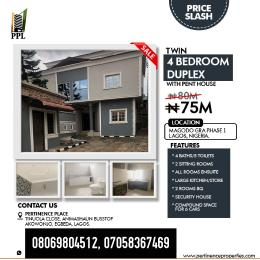4 bedroom Penthouse Flat / Apartment for sale Magodo GRA phase1, Lagos Nigeria.  Ikeja Lagos