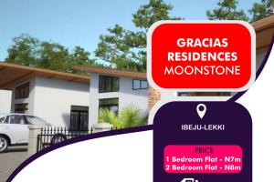 2 bedroom Flat / Apartment for sale Gracias Residences - Moonstone Akodo Ise Ibeju-Lekki Lagos