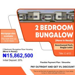 2 bedroom Semi Detached Bungalow House for sale Beechwood Park Bogije Sangotedo Lagos