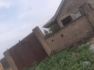 2 bedroom Flat / Apartment for sale Uncompleted building two nos of mini flat with 2bedroom at alakuko amje estate for sale nice environment secure estate  Ojokoro Abule Egba Lagos