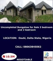 3 bedroom House for sale Osubi ,Delta state Nigeria Warri Delta