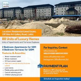 2 bedroom Flat / Apartment for sale  Residential Gated Estate, Off Nike Art Gallery Road, Lekki Lekki Phase 1 Lekki Lagos