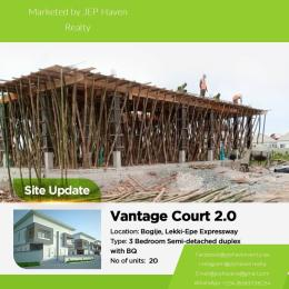 3 bedroom House for sale VANTAGE Court  Bogije Sangotedo Lagos