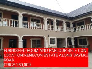 1 bedroom mini flat  Mini flat Flat / Apartment for rent RENECON ESTATES  Igbogbo Ikorodu Lagos