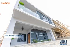 3 bedroom Terraced Duplex House for sale Ogombo Road Ajah.  Abraham adesanya estate Ajah Lagos
