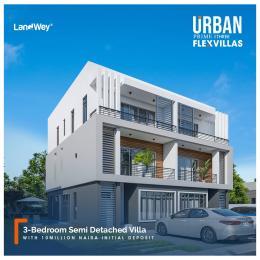 3 bedroom Semi Detached Duplex for sale Urban Prime Three Flex Villas, Adesanya, Off Ogombo Road Ogombo Ajah Lagos