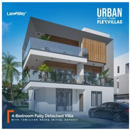 4 bedroom Detached Duplex for sale Adesanya, Off Ogombo Road, Urban Prime Three Flex Villas Ogombo Ajah Lagos