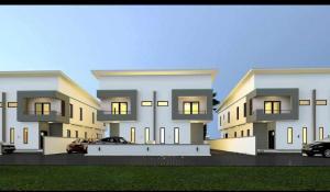 3 bedroom Semi Detached Duplex House for sale Richland Estate Bogije Sangotedo Lagos