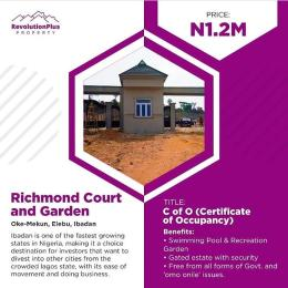 Residential Land Land for sale Oke-Mekun, Elebu Ibadan Oyo