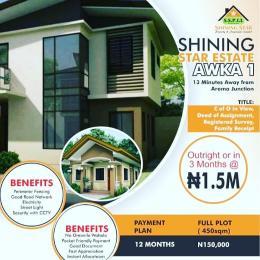 Residential Land Land for sale Shining Star Estate Akwa 1 Awka South Anambra