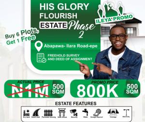 Mixed   Use Land for sale His Glory Estate Abawapa Ilara Epe Lagos