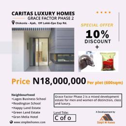Residential Land Land for sale Olokonla Ajah Off Lekki Epe Express Way Olokonla Ajah Lagos