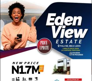 Mixed   Use Land for sale Edenview Estate Folu Ise Road Free Trade Zone Ibeju-Lekki Lagos