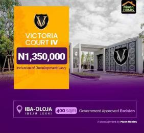 Residential Land Land for shortlet Iba-Oloja Ibeju-Lekki Lagos
