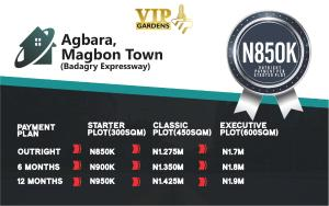 Residential Land Land for sale Agbara,  Magbon Badagry Lagos