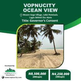 Residential Land for sale Mosere Kogo Villa, Behind Eko Akete, Lekki Peninsula, Lagos Nigeria. Mosere Ikoga Ibeju-Lekki Lagos