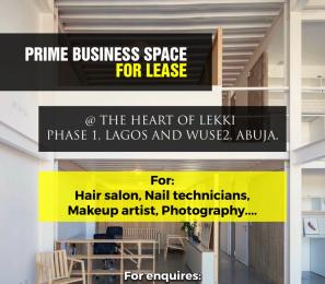 1 bedroom mini flat  Workstation Co working space for rent Off parakou crescent  Wuse 2 Abuja
