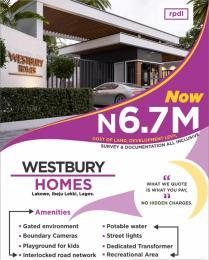 Residential Land Land for sale Bogije Lakowe Ajah Lagos