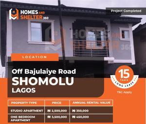 1 bedroom mini flat  Self Contain Flat / Apartment for sale Off Bajulaiye road Shomolu Lagos