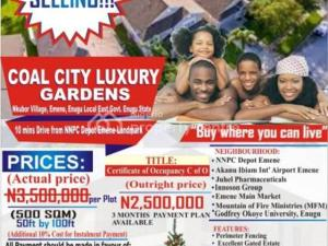 Serviced Residential Land Land for sale Nkubor Village, Emene Enugu East LGA Enugu Enugu