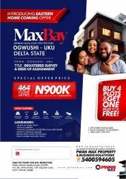 Residential Land Land for sale Max Bay Estate Behind Delta State Polytechnic Ado Ajah Delta